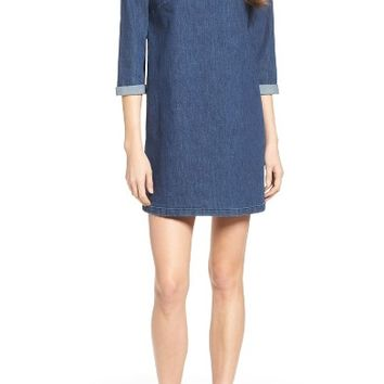 French Connection Denim Shirtdress | Nordstrom