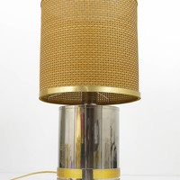Outstanding Original Gucci Italy Table Lamp, 1970s