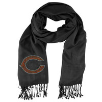 Chicago Bears NFL Black Pashi Fan Scarf