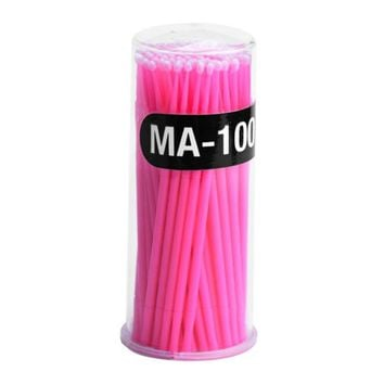 1 set Makeup Cosmetic Individual Cotton Swab Eyelashes  Round Cotton Remover D# dropshipping