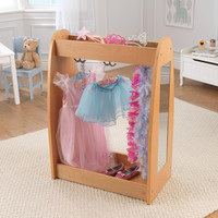 Kidkraft Dress Up Unit - Natural w/ Hooks - 12421
