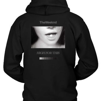 The Weeknd Girl Fly Hoodie Two Sided