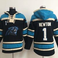 Carolina Panthers - CAM NEWTON #1 Vintage NFL Sweatshirt