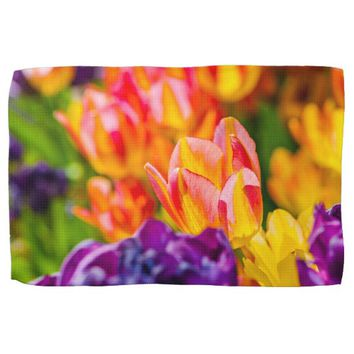 Tulips Enchanting Hand Towel