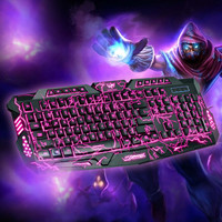 Gaming Keyboard 3 Colors League Of Legends