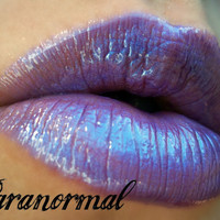 Kiss My Lips (Paranormal ) Lip Gloss ,High Gloss Deep Violet with Deep Blue tones