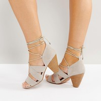 ASOS TALI Lace Up Heeled Sandals at asos.com