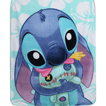 Disney Lilo & Stitch Scrump Hug Comfy Throw