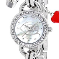 Women's Game Time Watches 'MLB - Cincinnati Reds' Charm Bracelet Watch, 23mm