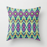 Boho Chic 2 Throw Pillow by Bohemian Gypsy Jane | Society6