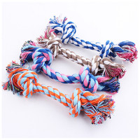 Pets Rope Toys Bite Colorful Squeak Toys
