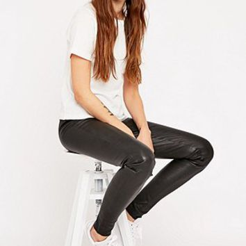Selected Femme Sylvia Leather Leggings - Urban Outfitters