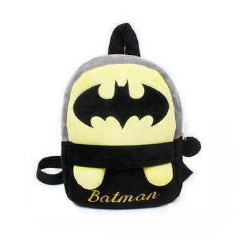 C3 mochila escolar Birthday gift Batman backpacks school bags for boy Cartoon kindergarten Plush children Kids school bags