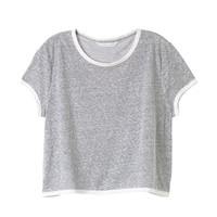 Boxy Crop Tee - Easy Tees - Victoria's Secret
