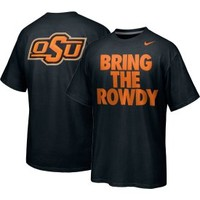 Nike Men's Oklahoma State Cowboys 'Bring The Rowdy' Black T-Shirt