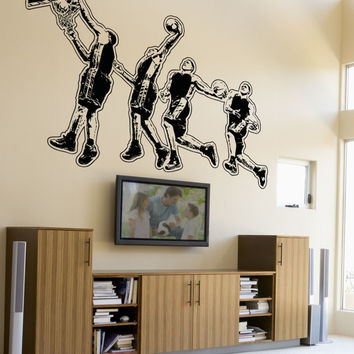 Vinyl Wall Decal Sticker Dunking #5081