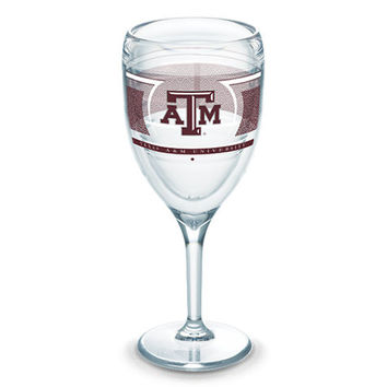 Texas A&M Aggies Insulated Wine Glass Single by Tervis