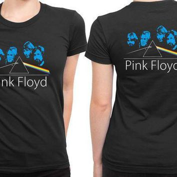 Pink Floyd Facer 2 Sided Womens T Shirt