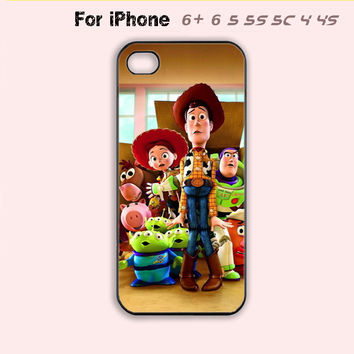 Toy Story Phone Case For iPhone7 7 Plus For iPhone 6 Plus For iPhone 6 For iPhone 5/5S For iPhone 4/4S For iPhone 5C-5 Colors Available