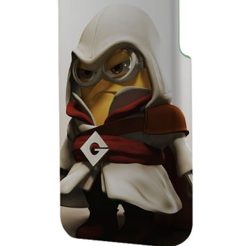 Best 3D Full Wrap Phone Case - Hard (PC) Cover with Minions Assasin Design