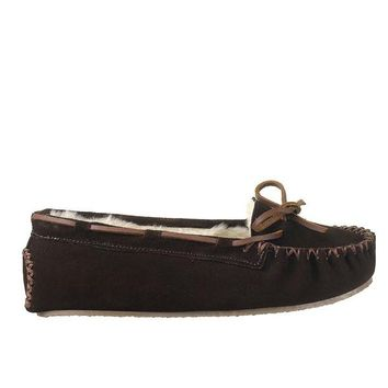 Minnetonka Cally Slipper - Chocolate Moccasin