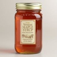 Vermont 100% Pure Maple Syrup Mason Jar
