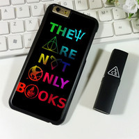 Divergent Hunger Game Harry Potter Book iPhone 6 Plus | 6S Plus Case Planetscase.com