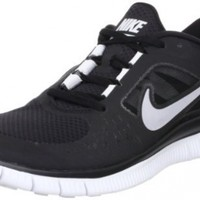 Mens Nike Free Run+ 3 Running Shoes Black / Reflect Silver / Platinum 510642-002 Size 9