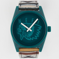 Neff Daily Woven Camp Aztec Watch Turquoise Combo One Size For Men 26205425901