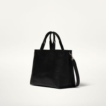REVERSIBLE SHOPPER BAG - Bags and Footwear 30% off - WOMEN - Spain - Massimo Dutti