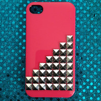 Studded Pink iPhone 4/4s Case