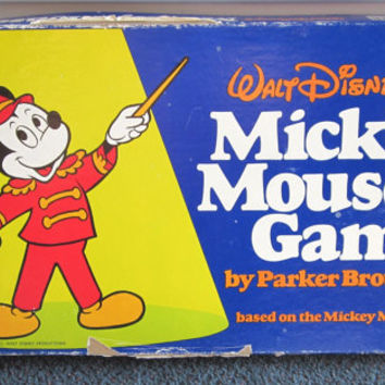 Walt Disney's Mickey Mouse Game, based on the Club Song, by Parker Brothers, 1976