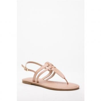 Nude Faux Leather Sling Back Thong Sandals @ Cicihot Sandals Shoes online store sale:Sandals,Thong Sandals,Women's Sandals,Dress Sandals,Summer Shoes,Spring Shoes,Wooden Sandal,Ladies Sandals,Girls Sandals,Evening Dress Shoes