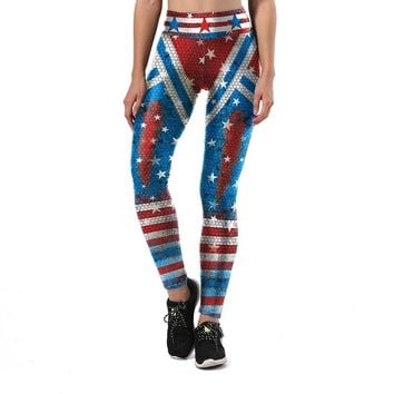 Blue and Red Stars Armor Leggings