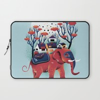 A Colorful Ride Laptop Sleeve by Dan Elijah G. Fajardo