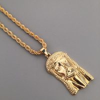 New Arrival Shiny Stylish Gift Jewelry Pendant Hip-hop Club Necklace [6542785475]