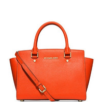 Michael Michael Kors Medium Selma Saffiano Satchel Bag