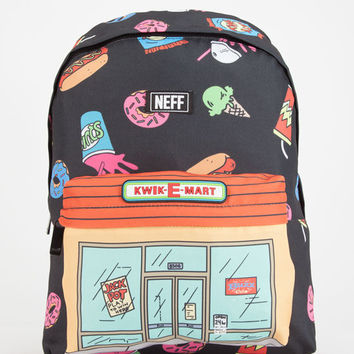 Neff The Simpsons Kwik Market Backpack Black One Size For Men 26129810001