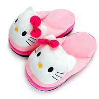 Winter Cute Lovely Cartoon Animal Warm Slippers Ladies Girl Home Indoor Adorable