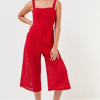 MINKPINK Starlight Lace Jumpsuit | Urban Outfitters