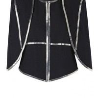 sass & bide |  VICTORY - black | accoutrement | capelets | sass & bide