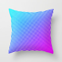 80's grade mag Throw Pillow by Neon Wildlife