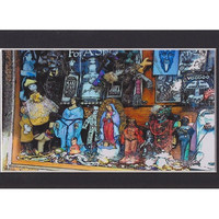 New Orleans Gothic Dark Art, Voodoo Offerings, 4x6 French Quarter Fine Art Print, Ready to Frame