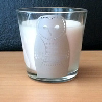 Scented Owl Candle (Vanilla)