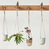 Stoneware Hanging Planter | 4 Colors!