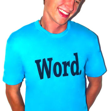 Word t-shirts help children learn to read