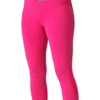Roxy Outdoor Fitness Get Faster Capri