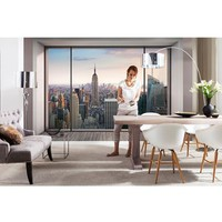 Wallpops 'Penthouse' Wall Mural - Grey (8-Panel)