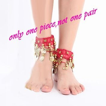 New Belly Dance Anklet Accessories Foot Chain Indian Dance Chain Anklets