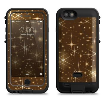The Golden Glowing Stars  iPhone 6/6s Plus LifeProof Fre POWER Case Skin Kit